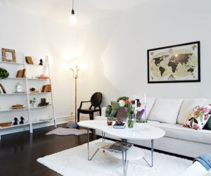 Renovated 3-room apartment in Linnéstaden with the Swedish taste