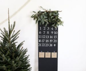 Chalkboard Wall Calendars That Put Your Skills to The Test