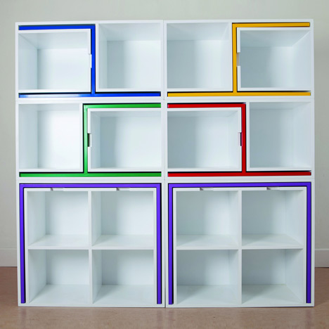 Charming Multifunctional Bookcase By Orla Reynolds