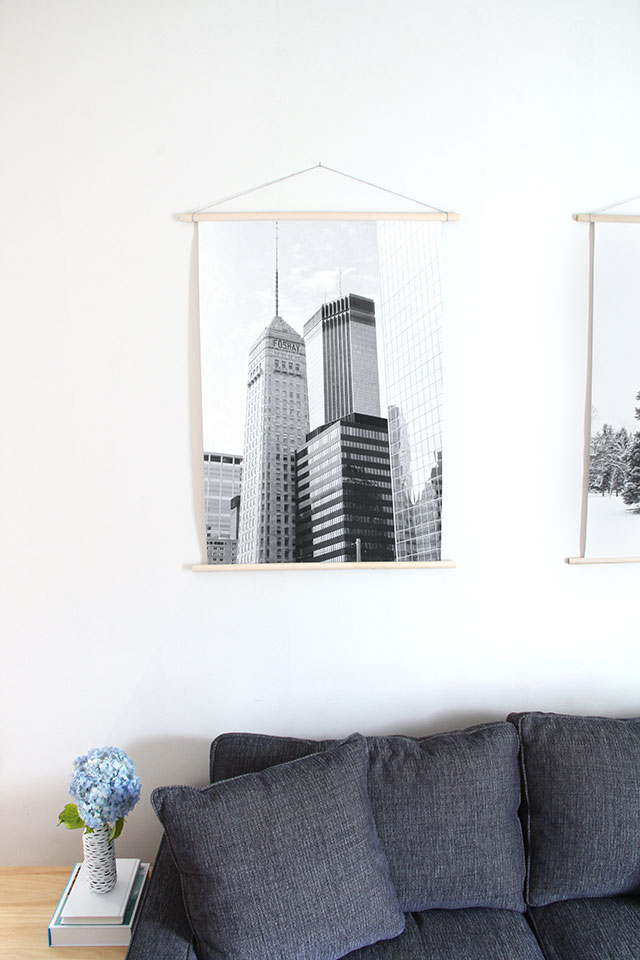 Budget friendly wall art diy