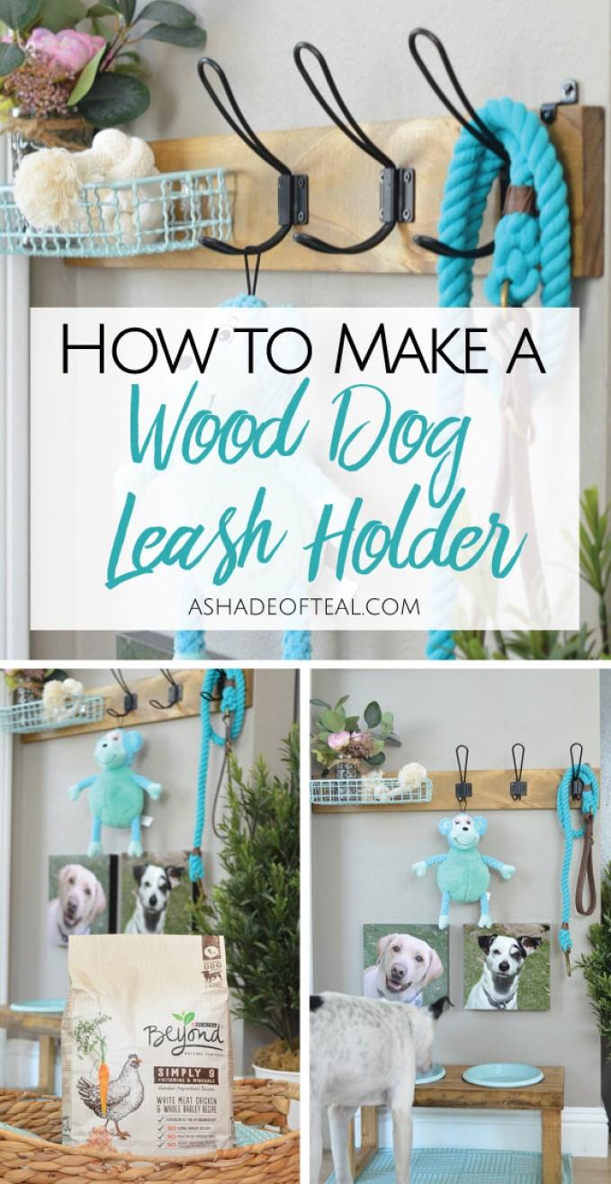 Coat Hook Dog Leash Holder
