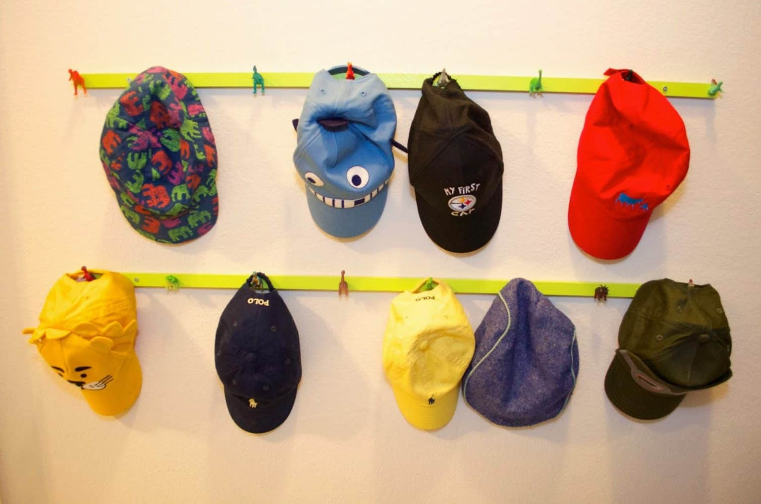 Coat Hook Hat Display