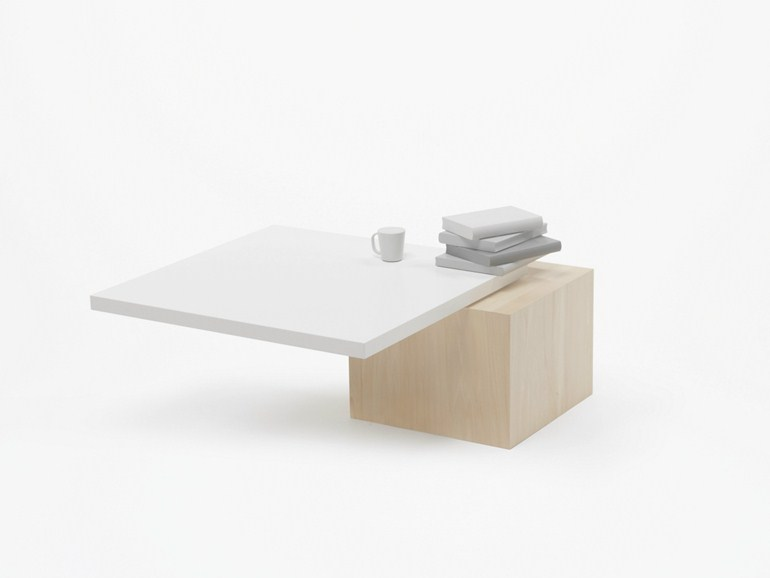 Concept low coffee table design