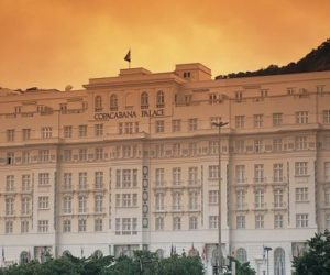 The exquisite Copacabana Palace in Brazil