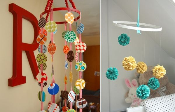 A Fun Adorable Batch Of Diy Baby Mobiles