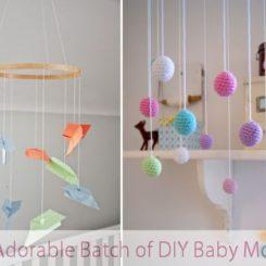 Fun Adorable Batch Of Diy Baby Mobiles