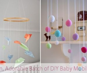 Fun, Adorable Batch of DIY Baby Mobiles