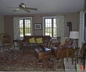 Spectacular family room makeover: from dark to bright in 2 months