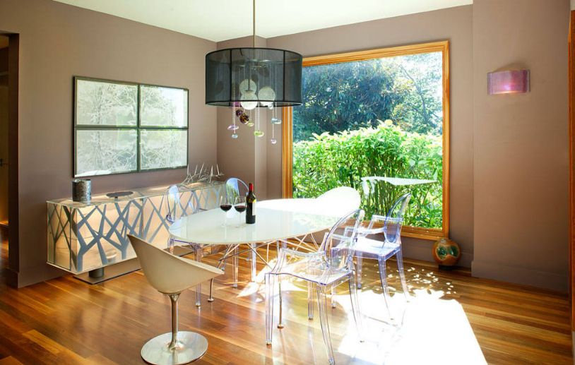 Ghost chairs for dining table