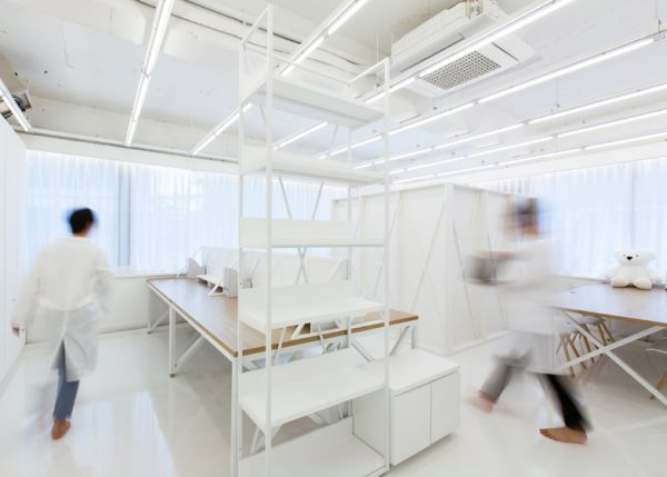 View in gallery & White interior design office in Seoul