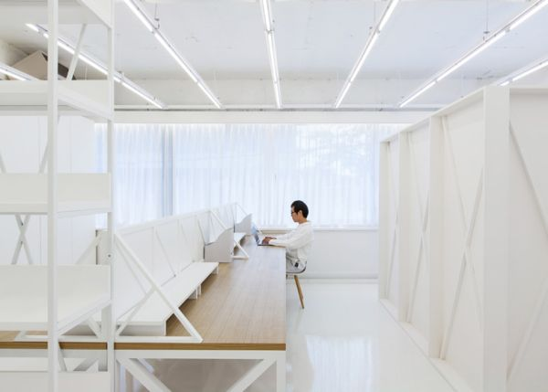 view in gallery white office interior g92 office