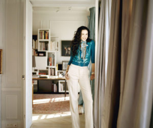 L'Wren Scott and Mick Jagger's stylish Parisian apartment