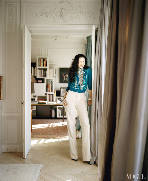 Lu0027Wren Scott And Mick Jaggeru0027s Stylish Parisian Apartment