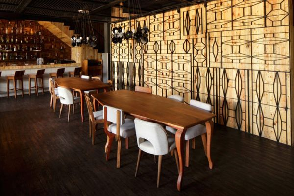 Contemporary porterhouse restaurant in pantai indah kapuk for House interior design jakarta
