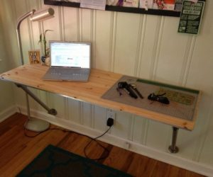 ... How To Make A Wall Desk With A Customized Design