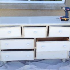 Charming Bedroom Dresser Makeover With An Aged Look Awesome Ideas