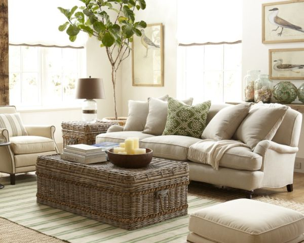 Superb Create A Vintage Look With A Rattan Coffee Table Part 21