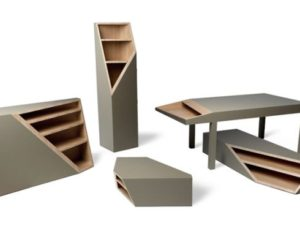 The Cutline furniture collection by Alessandro Busanas