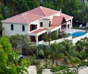 Caribbean villa with splendid views