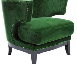 Art Deco armchair from Kare Design
