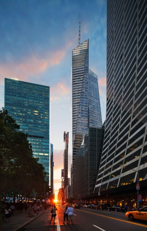The Bank Of America Tower By Cook Fox Architects