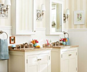 6 Ways To Make A Monochromatic Bathroom Pop!