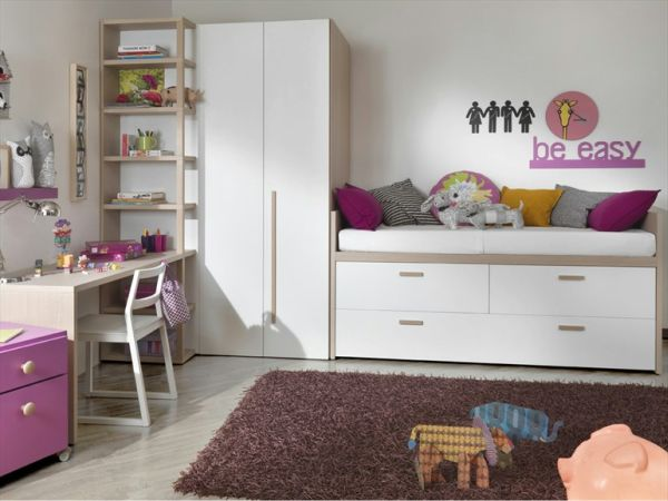 The compact bed with storage for kids room for Storage for kids rooms
