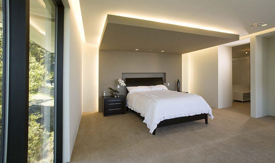 design tricks how to make a ceiling look higher - Ceiling Bedroom Lights