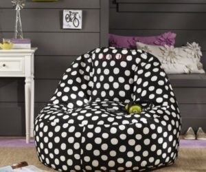 Doted Leanback Lounger for Kids Room