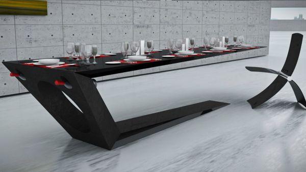 The Monolito Carbon Fiber Table By Jules Sturgess