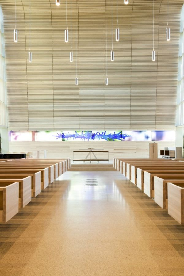 The Contemporary B Ler Church With A Minimalist Design