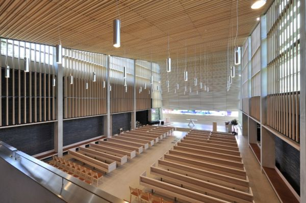 The Contemporary Bler Church With A Minimalist Design