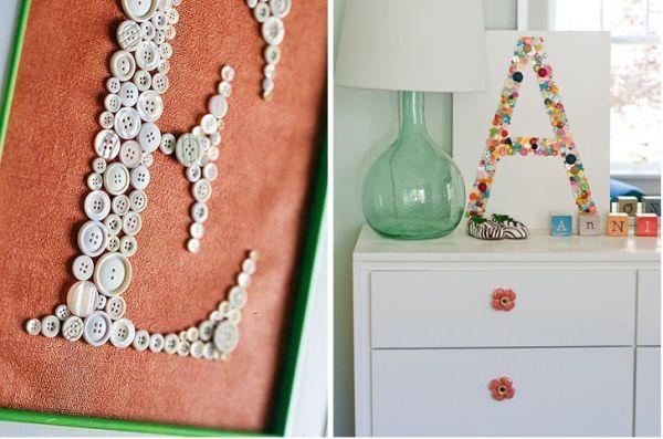 6 Quirky Button Decor DIYu0027s!