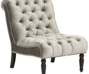 The Cozy Caitlin Chair With Stylish Rounded Features
