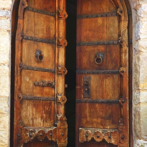 Medieval Front Doors: Castello Di Scerpena-a Luxury Medieval Castle In Tuscany