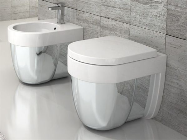 Ceramic Bathroom Furniture By Luca Cimarra