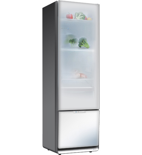 Home refrigerator and freezer with transparent doors  sc 1 st  Homedit & The s.Home refrigerator and freezer with transparent doors