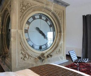 Unbelievable Clock Tower Hotel Room