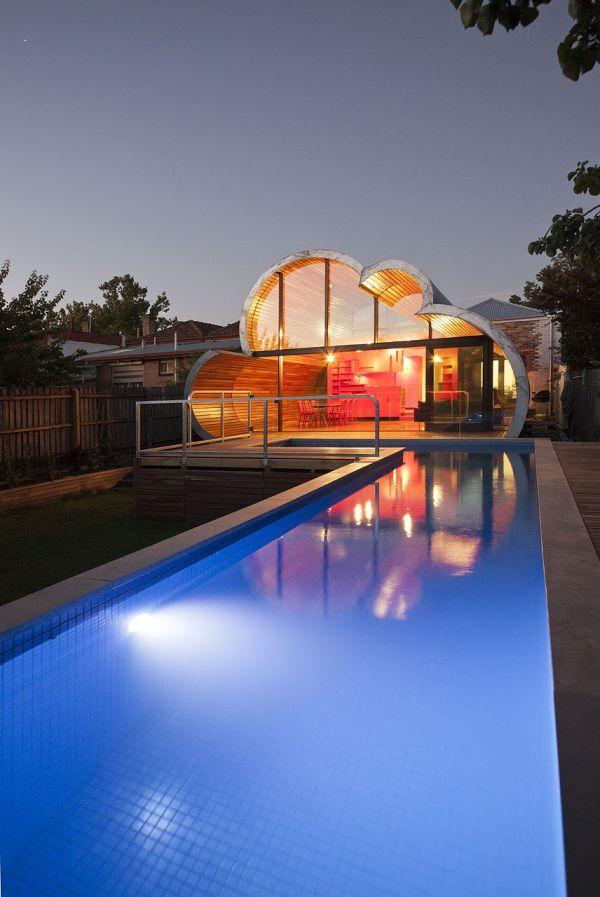 Beautiful Cloud House In Melbourne Australia
