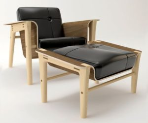 The eclectic and extremely comfortable Club Chair