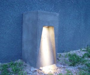 Creative DIY Light Fixtures Made Of Concrete