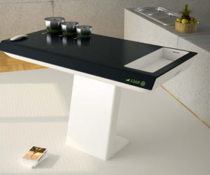 The all-in-one kitchen table by Aslıhan Tokat