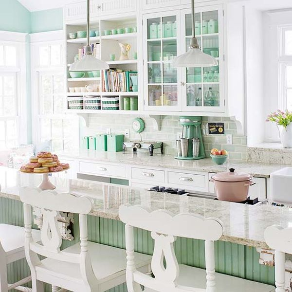 Small White Cottage Kitchen 20 charming cottage-style kitchen decors