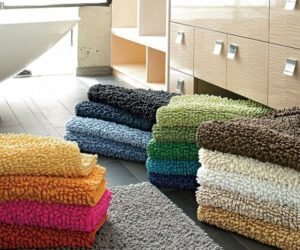 Embroidered Welcome And Guest Bamboo Towel Sets · Company Cotton Chunky  Bath Rug