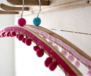 7 Fun And Creative Ways To Decorate Clothes Hangers