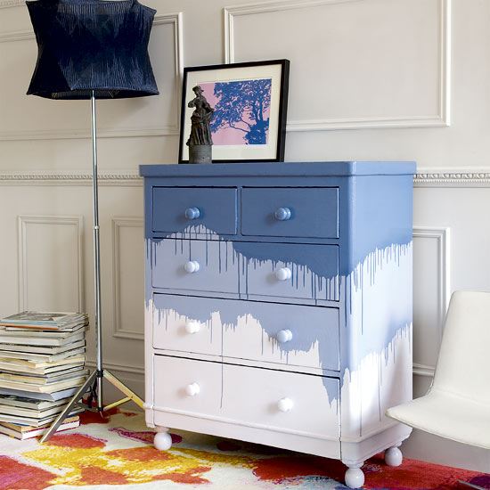 7 funky ways to update your chest of drawers ideas - Ideas para pintar un piso ...