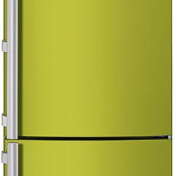 Electrolux green color fridge freezer