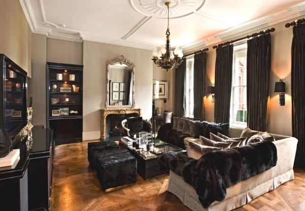 Glamorous townhouse in Mayfair, refurbished by Earlcrown