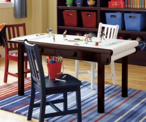 Exceptional ... Simple And Functional Activity Table For Kids Awesome Design