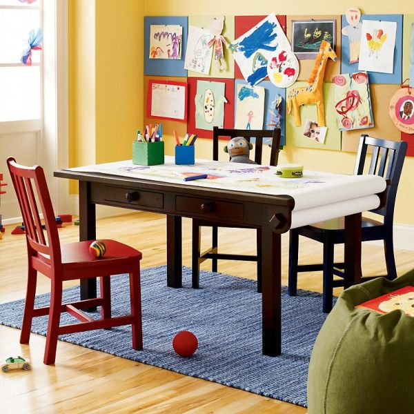 Simple And Functional Activity Table For Kids